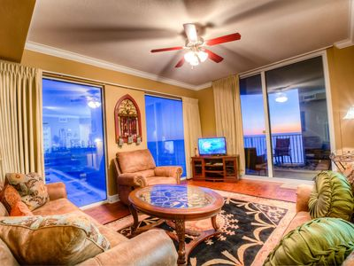 Photo for Tidewater 1818-Fantastic Gulf Views,Ceiling To Floor Windows,Pools,Fitness