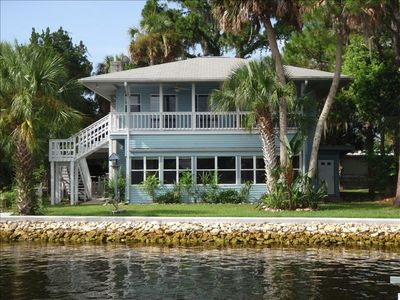 Photo for River Side Lodge on Homosassa on the Deepest Water Available.