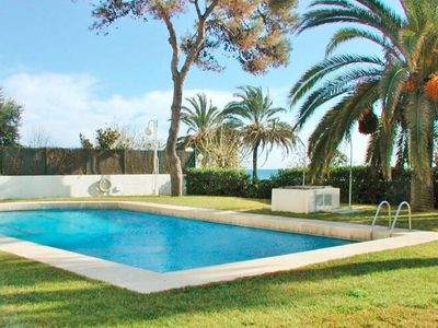Photo for Cozy Apartment in Sant Vicenç de Montalt with Swimming Pool