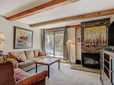 Photo for One block from downtown Breckenridge, mountain views, hot tub access!