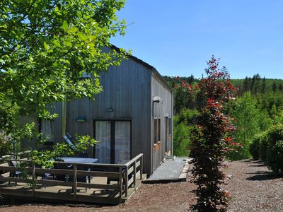Photo for Beautiful holiday home withl sauna, with a view of a magnificent nature reserve