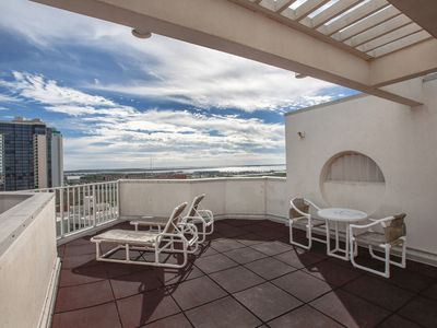 Photo for Spectacular Beachfront 15th Floor Penthouse with Private Rooftop Balcony