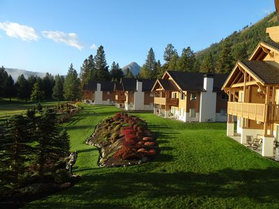 Photo for Springtime in Leavenworth is lovely! Huge view condo, walk to town.