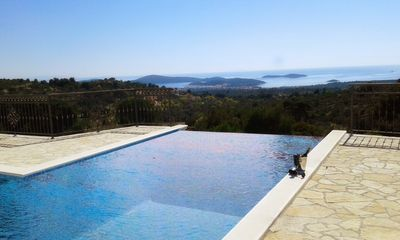 Photo for *HEATED POOL* Amazing Villa Terra with stunning sea view and extreme comfort