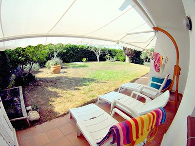 Photo for El Jardin apartment, modern for 6pax with communal pool and private garden