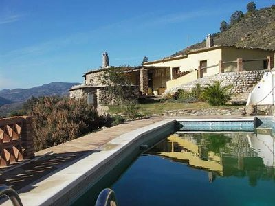 Photo for Alpujarran Farmhouse with Private Pool and Stunning Mountain Views