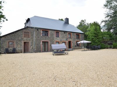Photo for Alluring Cottage in La Roche-En-Ardenne with Swimming Pool