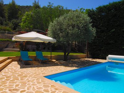 Photo for A Modern Peaceful  Place With A Private Pool, Garden And Bbq