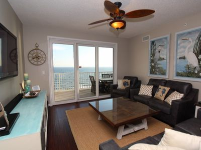 Photo for Windemere 1003-Beach View From Terrace with Luxurious Interior!