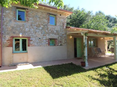 Photo for Beautiful renovated Rustico with pool 4 people, very quiet location