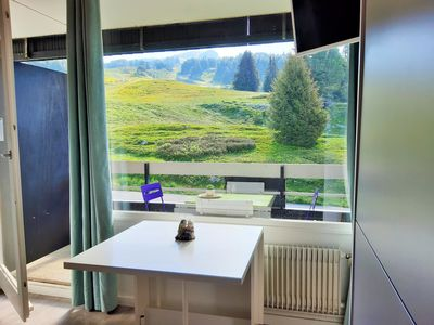 Photo for Homerez last minute deal - Nice studio - 100 m from the slopes