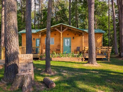 THE PINES IS NOW OPEN FOR RENTALS ! Book now. The weekends are filling quickly.