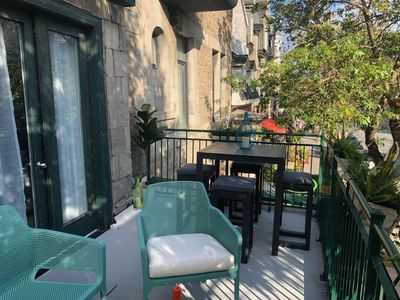 Photo for CENTRAL LOCATION - Sunny Terrace - Ideal for Family & Friends - 95% Walk Score!