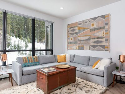 Photo for Eclectic, Modern & Colorful Condo | Hot Tub & Endless Pool | Ski In / Ski Out