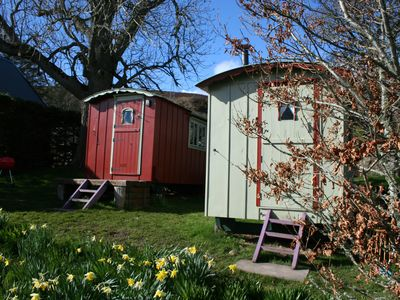Photo for Balranald shepherds huts self catering