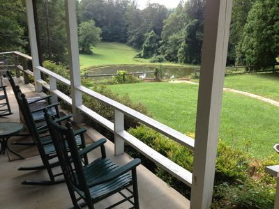 Photo for Private but Close to Town and Your own Hiking Trail, Pond  and Views