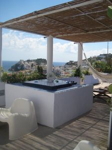 Photo for ITALY - Ponza Villa with large terrace. Amazing view on the sea
