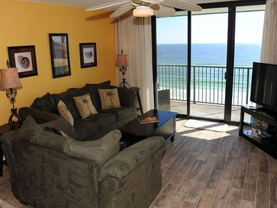 Photo for Beautiful 2/2 Gulf-Front Condo at Emerald Surf! Perfect Views of the Water from Private Balcony