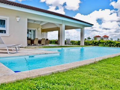 Photo for Luxury Estancia Golf Villa only 8 minutes from Bayahibe