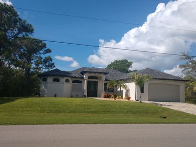 Photo for Waterfront Custom Home with Gulf access & Heated Pool
