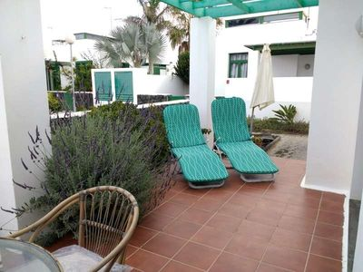 Photo for Apartment in the center of Costa Teguise with Internet, Balcony, Garden (1029016)