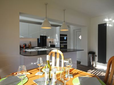 Photo for The Grey Goose, a modern Holiday Home for four in the centre of Bamburgh Village