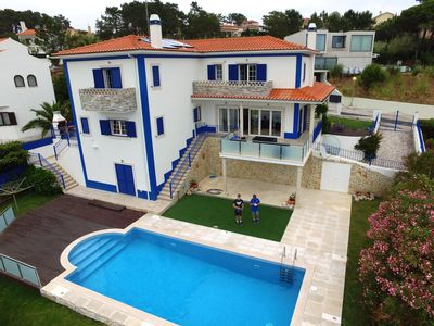 Photo for Detached Villa with Private Heated Pool and Lagoon / Ocean Views