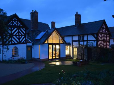 Photo for The Throne Weobley, luxury Grade 2*-listed house in UK Village of the Year