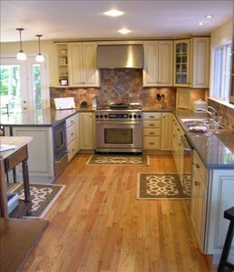 Ultra modern kitchen with Dacor appliances