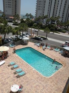 Photo for Pelican Pointe Condo/Hotel Unit #115 Affordable Efficiency in the Heart of Clearwater Beach!