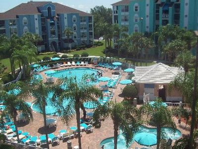 Photo for 1 BDRM CONDO~ Grande Villas Resort~ POOLS/SLIDES/MINI GOLF/NEAR SEAWORLD & MORE
