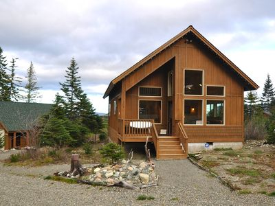Photo for Spectacular Mountain Cabin Set on 3 Acres w/stunning mountain views