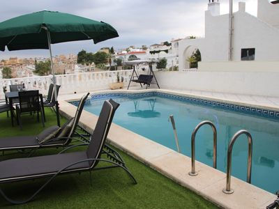 Photo for Villa with large private pool in quiet urbanizasion