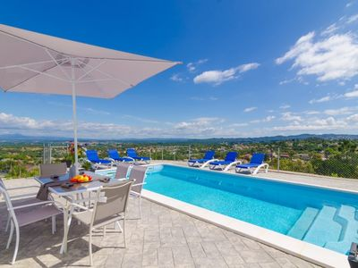 Photo for Club Villamar - Modern minimalist house completely renovated with private pool and spectacular vi...