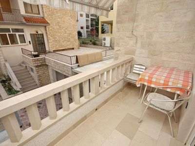 Photo for Studio flat with balcony Duće (Omiš)