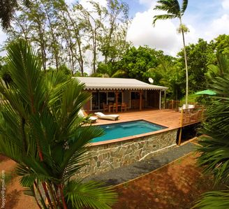 Photo for Wodyetia villa is named after one of the palm trees you will find in the garden