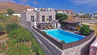 Photo for Villa Camellia is a beautiful stone house overlooking the sea.
