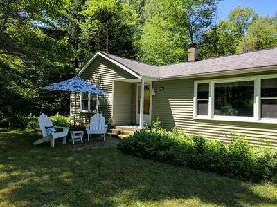 Photo for Serene, comfy Dune Cottage in the shadow of Lake Michigan dunes