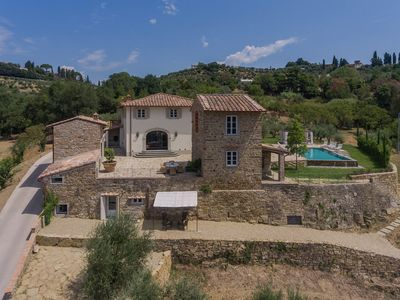 Photo for Eco-Luxury Estate in Tuscan Hills Only 3 km from Florence