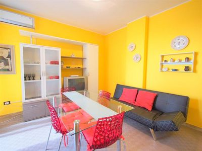 Photo for Just 30 meters from the beach! Apartment at Lido di Pomposa, air-conditioned