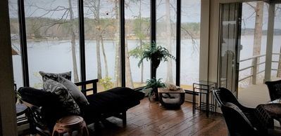 Photo for NEW! Lakeside town home with incredible views of Lake Desoto in Hot Springs Vill