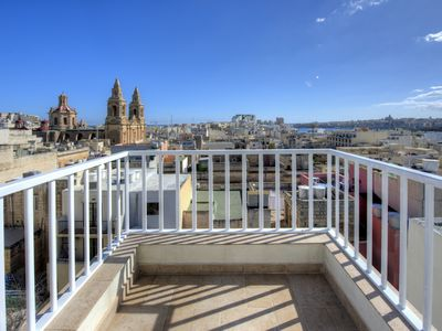 Photo for Spectacular Views Sliema 1-bedroom Penthouse