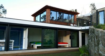 Photo for Modern house with pool, great views and in a quiet location