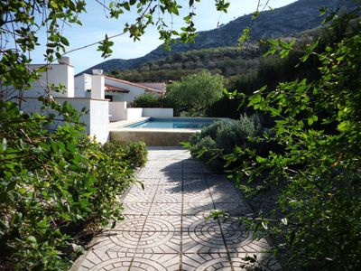 Photo for Spacious and attractive villa with spacious garden and private pool