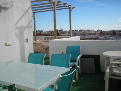Photo for Penthouse with views in center of Valencia