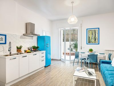 Photo for Agave Family  apartment in Sorrento with air conditioning, private parking, private terrace & balco…