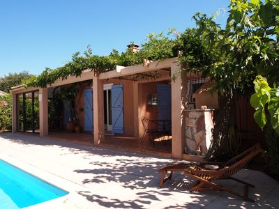 Photo for Comfortable house of 160 m2 with private pool between sea, mountain and river