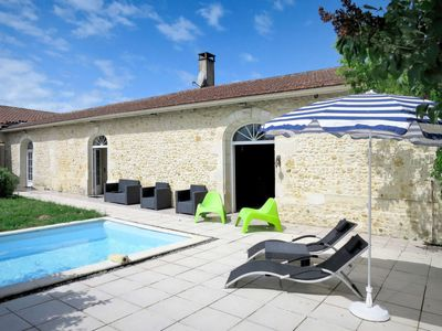 Photo for Vacation home Des Vignes (GEM150) in Gaillan-en-Médoc - 10 persons, 3 bedrooms