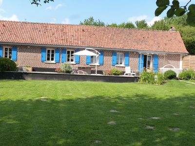 Photo for Lovely Holiday Home with Jacuzzi in Mouriez North France