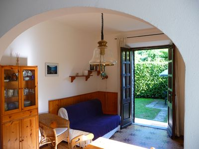 Photo for Apartment/ flat - MenaggioHouse with privat garden , Internet WiFi free